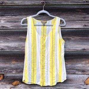 Women's Tommy Bahama Sleeveless Button Down Top M